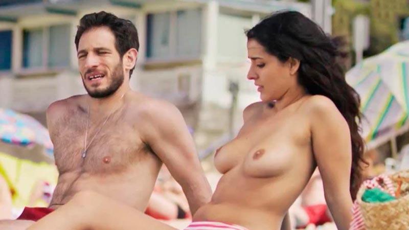 Inma Cuesta Topless Pechos Película Primos