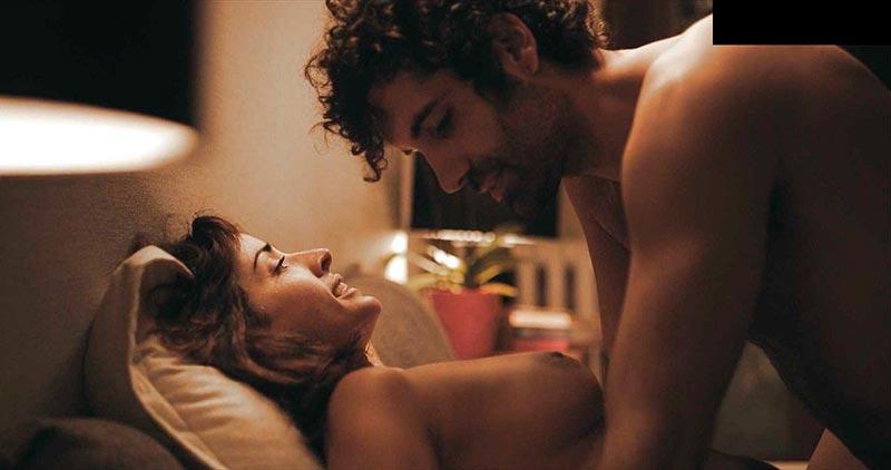 Inma Cuesta Topless Serie Desorden Dejas