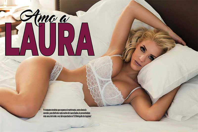 Laura Gadea Semidesnuda Revista Fhm