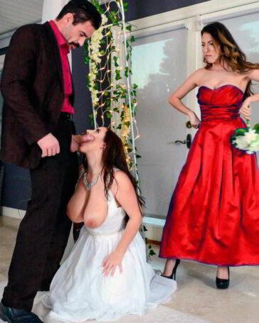 Tetona Angela White casarse