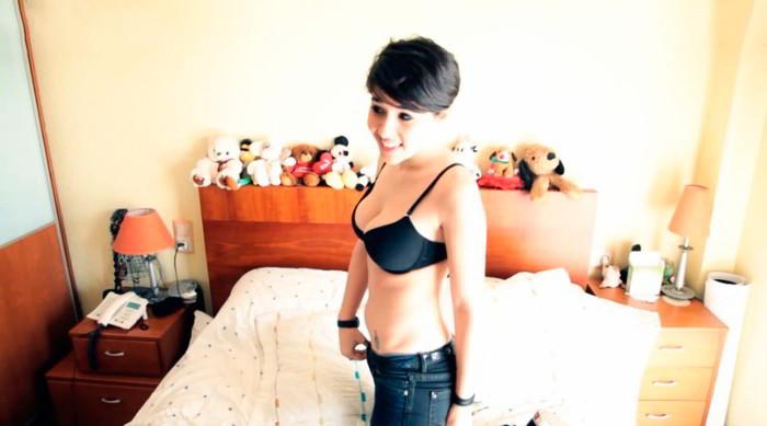 Alejandra Castelló sujetador
