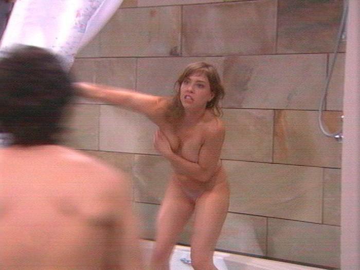 Erika Sanz pillada ducha
