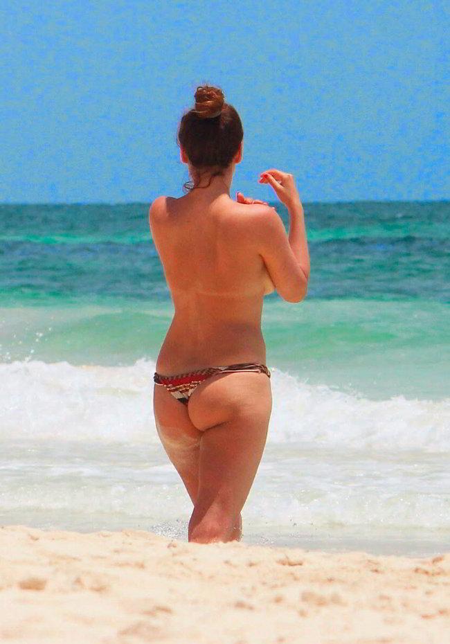 Mariló Montero desnuda