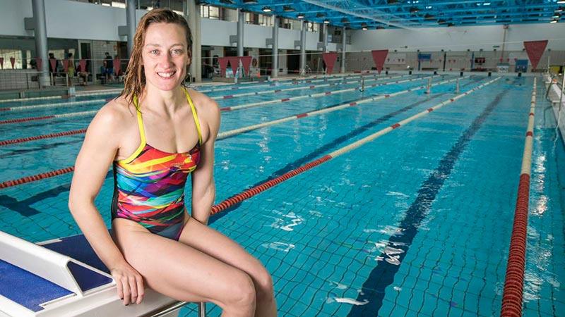 Mireia Belmonte Deportista Española Sexy Bañador 3