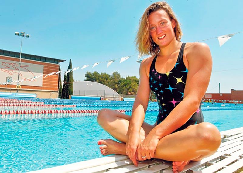 Mireia Belmonte Deportista Española Sexy Bañador 4