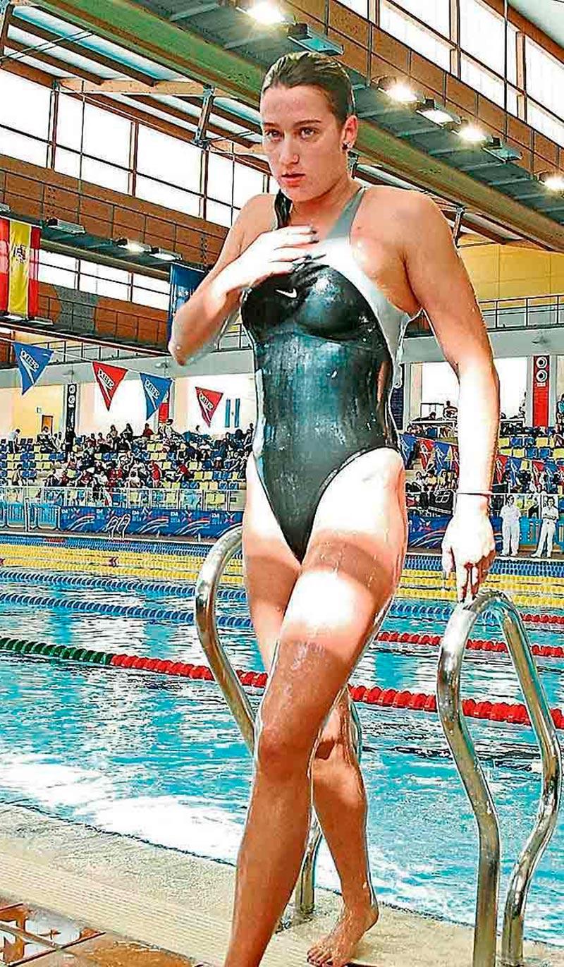 Mireia Belmonte Deportista Española Sexy Bañador 7