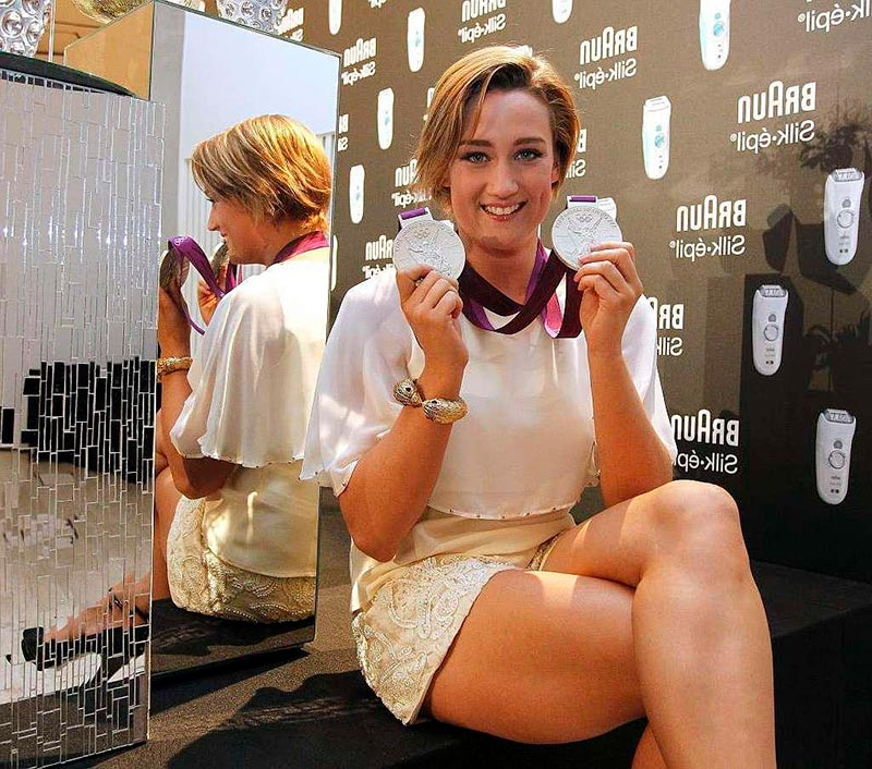 Mireia Belmonte Nadadora Olímpica Española 2