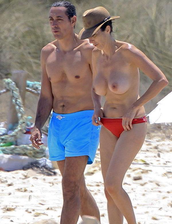 Paz Padilla paparazzi topless