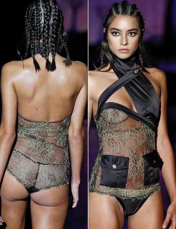 Rocio Crusset modelo pasarela