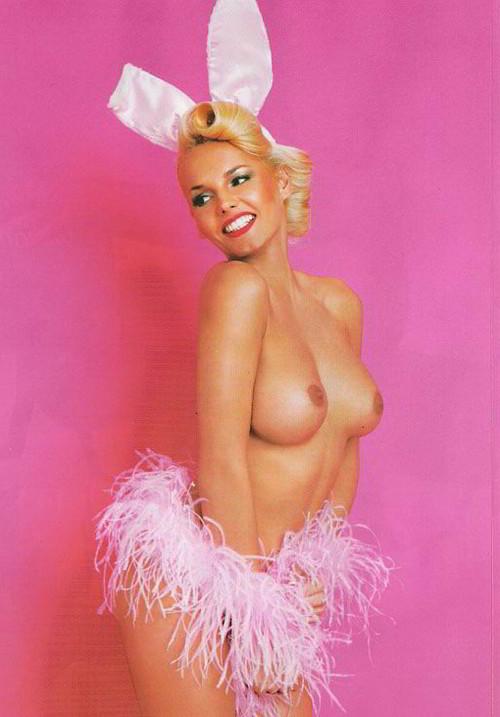 Arancha Bonete conejita Playboy