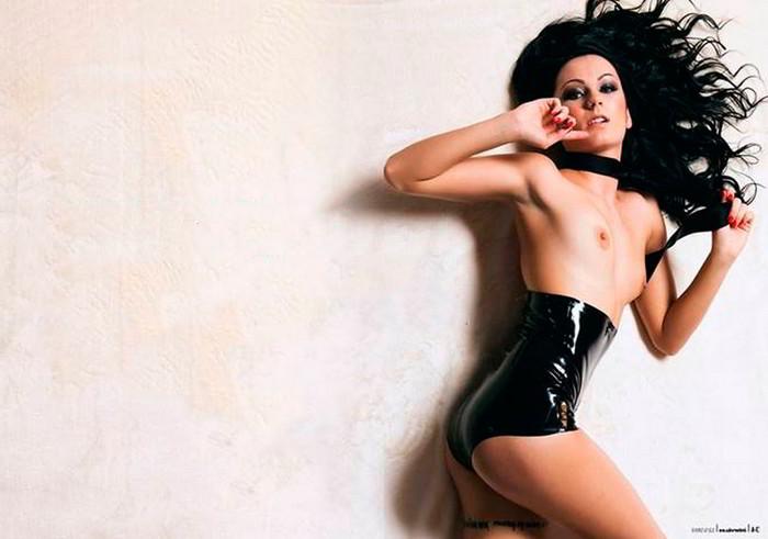 Arantxa Bustos desnuda Interviu