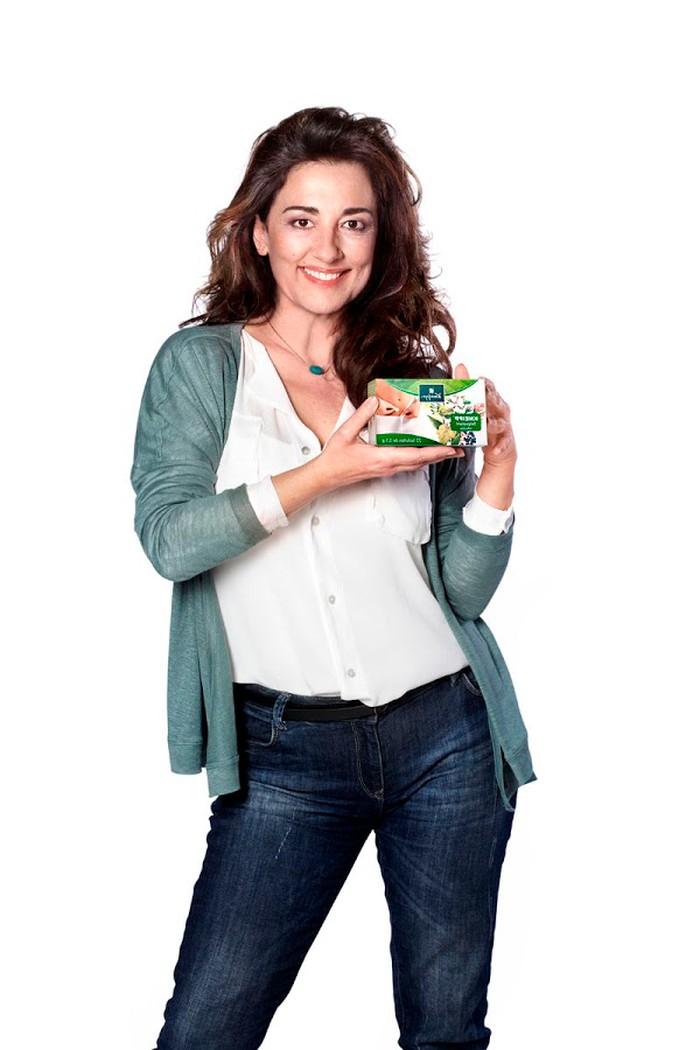 Isabel Ordaz Modelo Publicitaria Anuncio Yogur