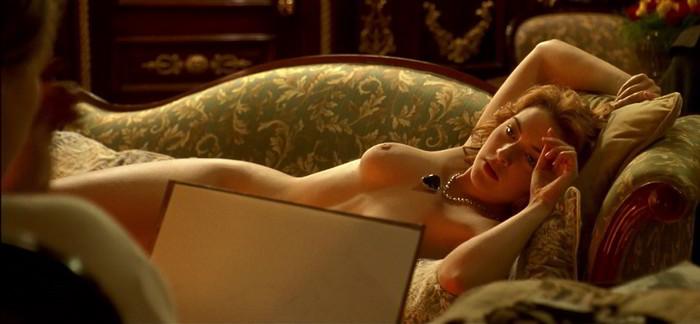 Kate Winslet desnuda Titanic
