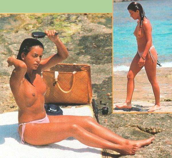Mónica Cruz bañador Marbella