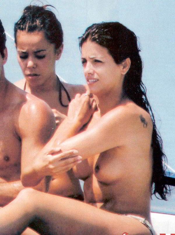 Mónica Cruz pillada
