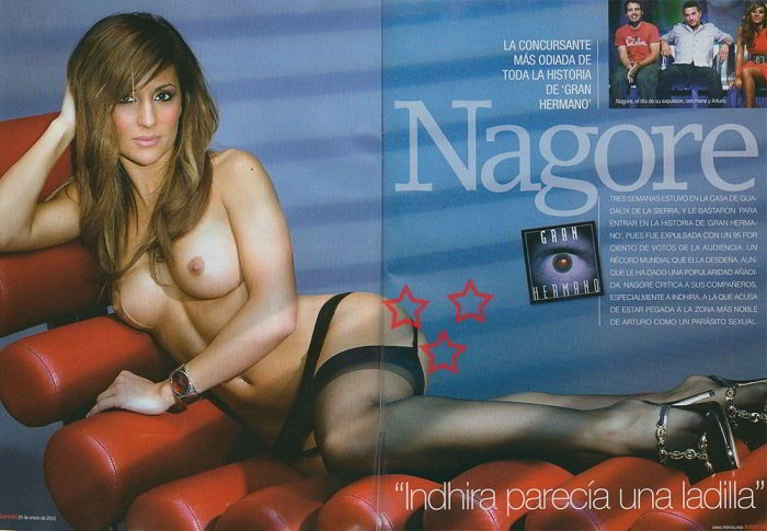 Nagore Robles topless Interviu