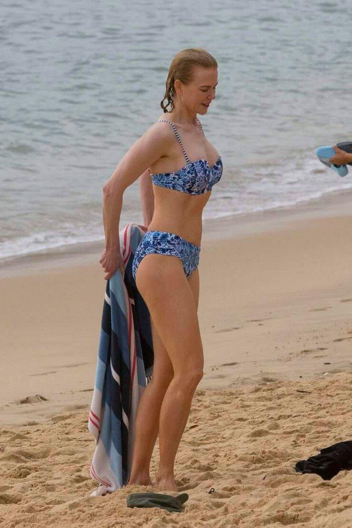Nicole Kidman Bikini Playa Vacaciones