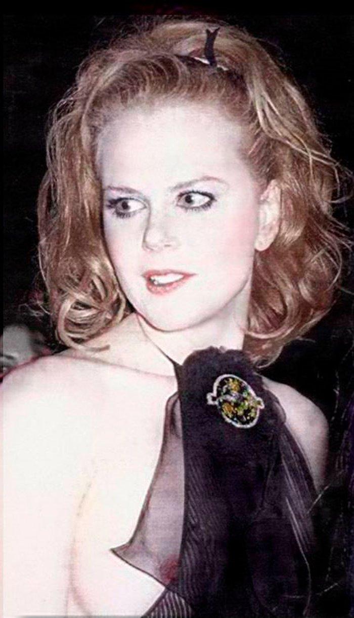Nicole Kidman Descuido Pechos Vista