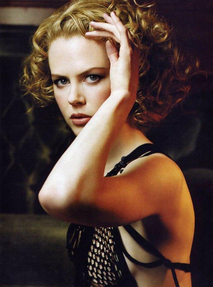 Nicole Kidman Posado Erótico Revista Moda 2
