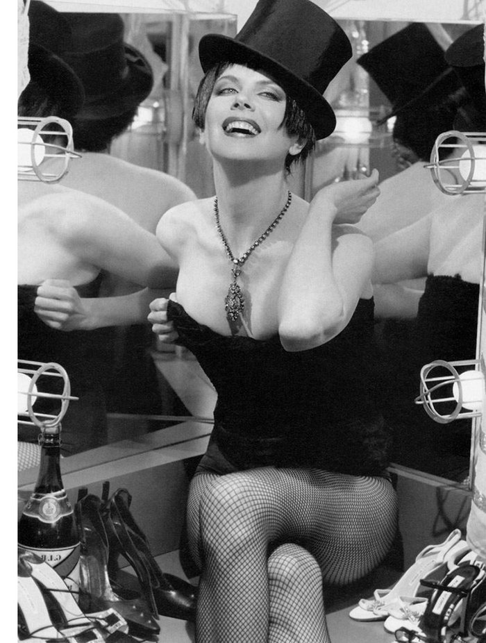 Nicole Kidman Posado Erótico Revista Moda 3