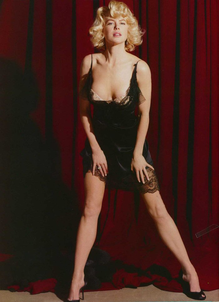 Nicole Kidman Posado Erótico Revista Moda 4