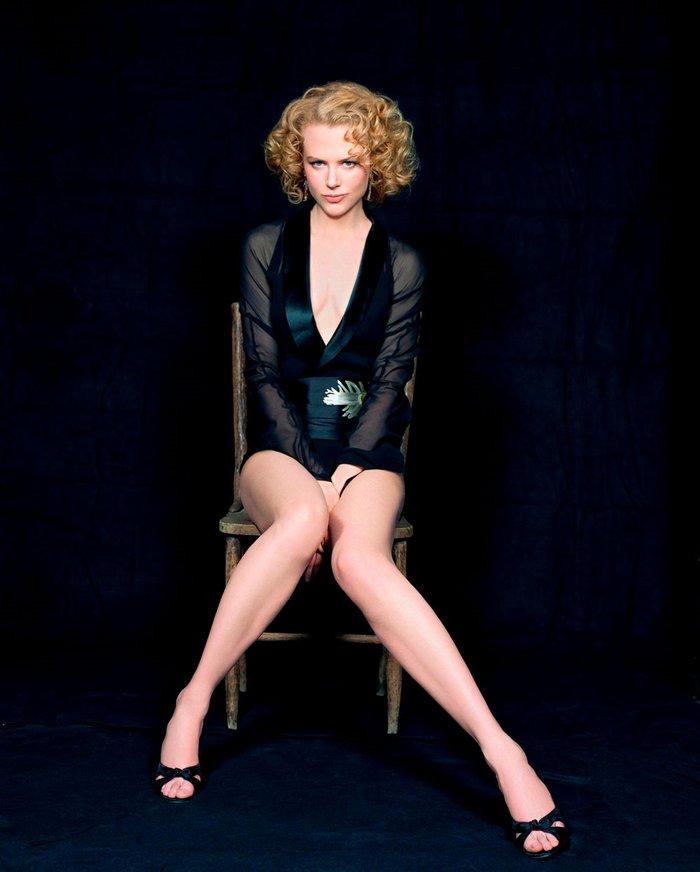 Nicole Kidman Posado Erótico Revista Moda 7
