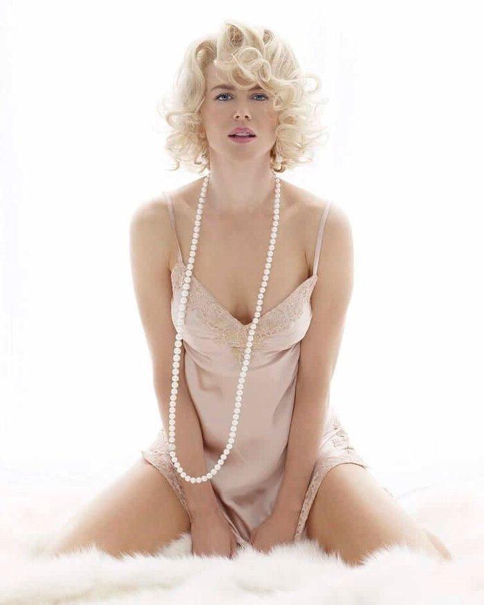 Nicole Kidman Posado Erótico Revista Moda 8