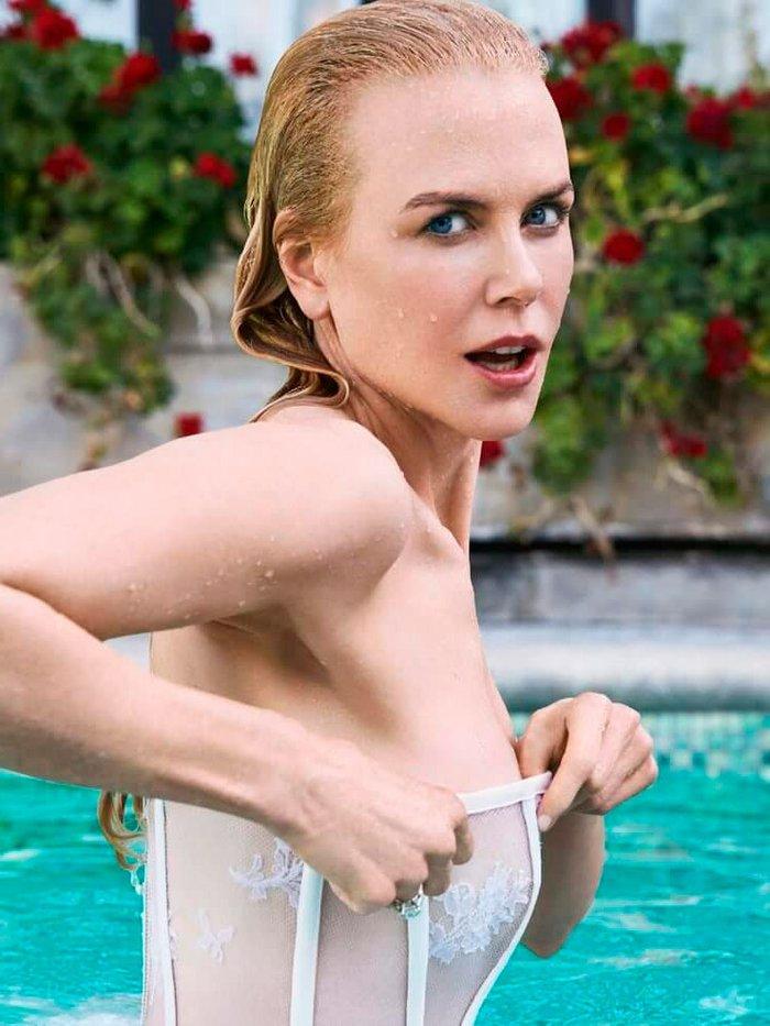 Nicole Kidman Posado Erótico Revista Moda 9