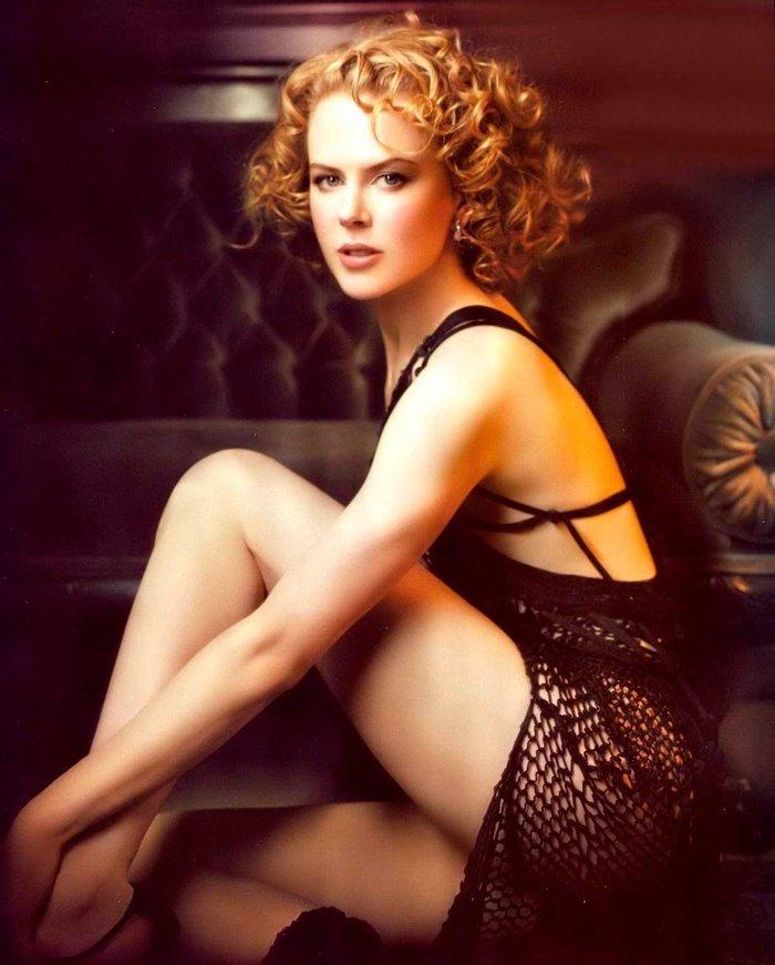 Nicole Kidman Posado Erótico Revista Moda
