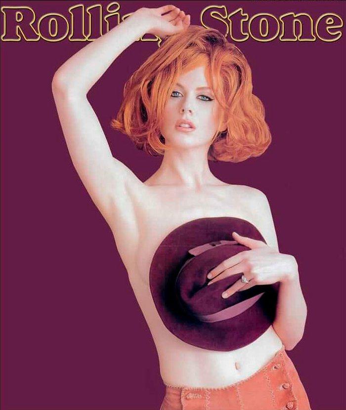 Nicole Kidman Topless Revista Rolling Stone