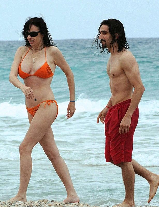 Beatriz Rico bikini playa