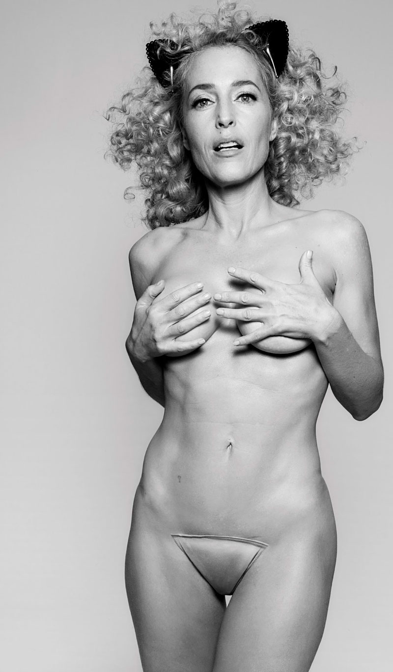 Gillian Anderson Desnuda Calendario Animal Pacma 2