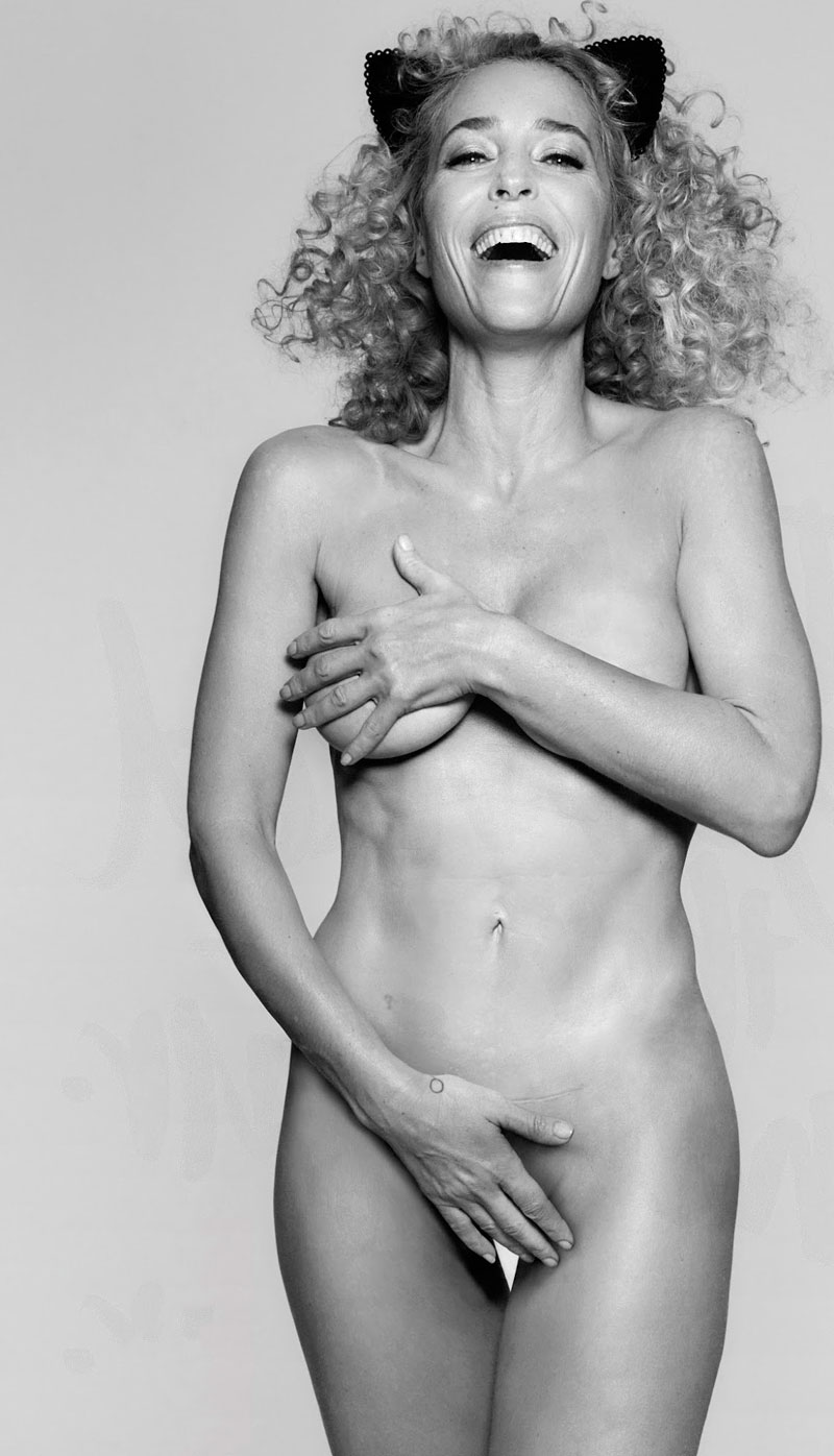 Gillian Anderson Desnuda Calendario Animal Pacma