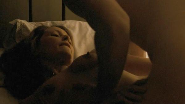 Gillian Anderson follando deseo venganza