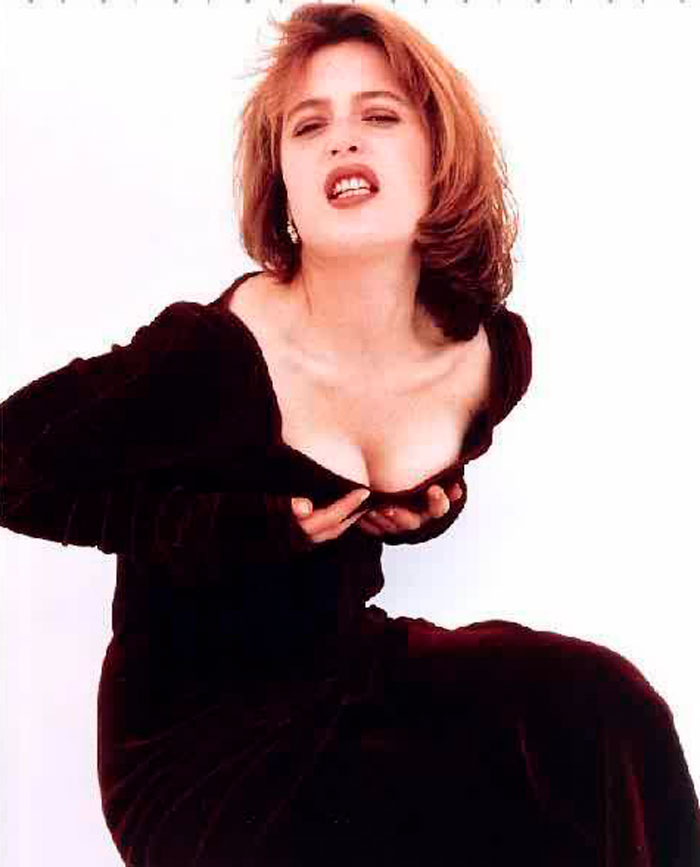 Gillian Anderson Fotos Sensuales Sexys Actriz Norteamericana 3