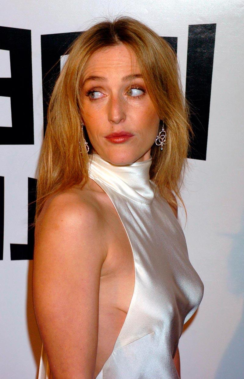 Gillian Anderson Fotos Sensuales Sexys Actriz Norteamericana 5