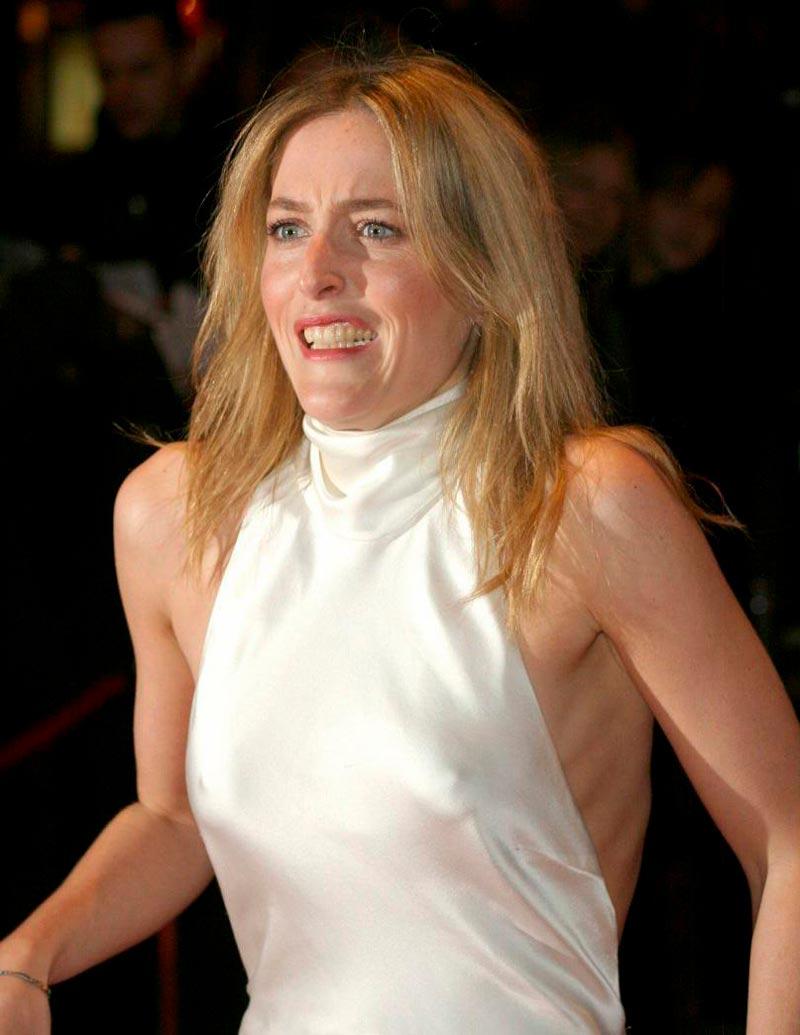 Gillian Anderson Fotos Sensuales Sexys Actriz Norteamericana 6