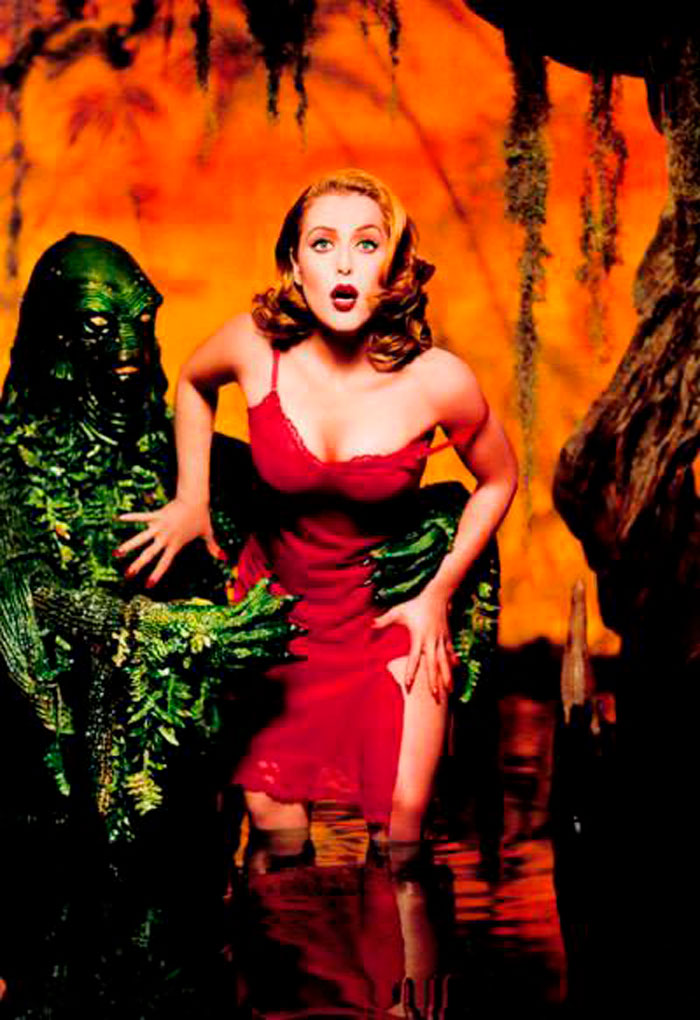 Gillian Anderson Fotos Sensuales Sexys Actriz Norteamericana