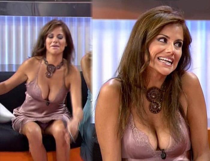 Mónica Hoyos descuido televisión