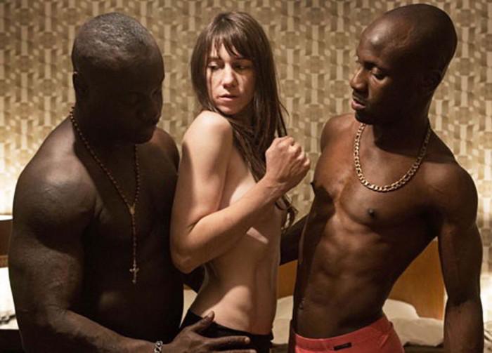 Nimphomaniac porno escena negros