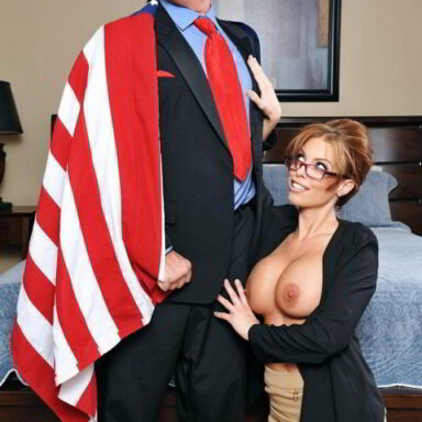 Parodia porno Donald Trump