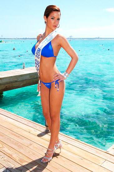 Tamara Gorro Miss Segovia 2008