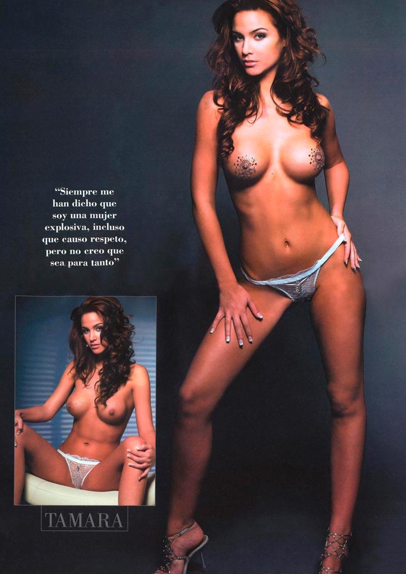 Tamara Gorro Desnuda Portada Revista Interviu 2