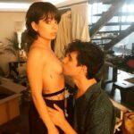 Anna Castillo desnuda chupar pezón Javis