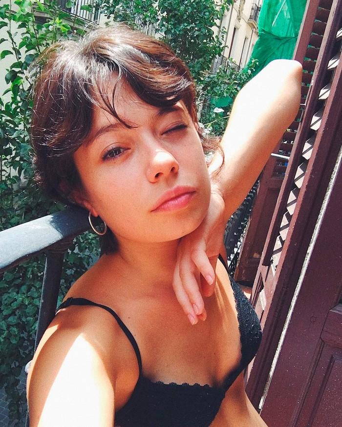 Anna Castillo selfie ropa interior