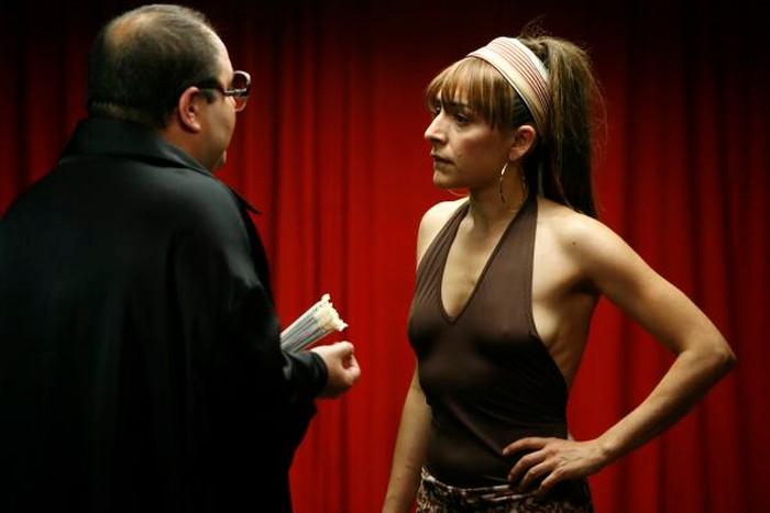 Candela Peña vestido provocativo