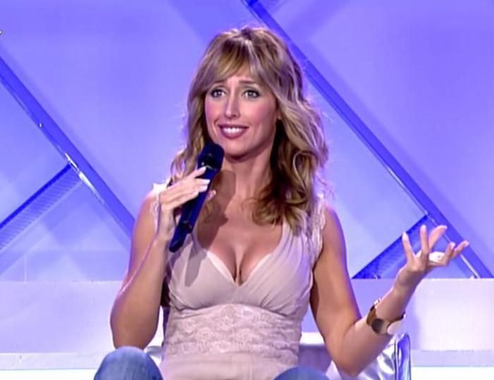 Emma García Tetas sujetador