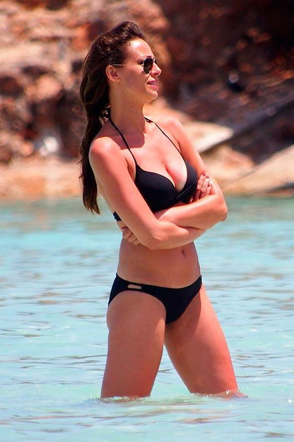 Eva González bañador