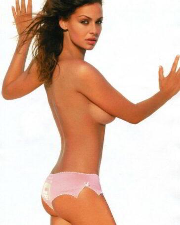Eva González desnuda