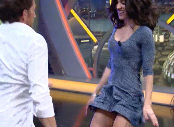 Macarena García descuido El Hormiguero